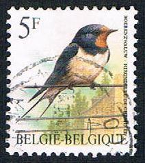 Belgium 1438 Used Bird (BP1826)