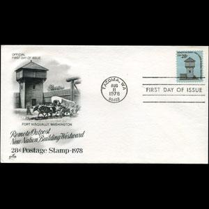 U.S.A. 1978 - FDC-1604 Fort