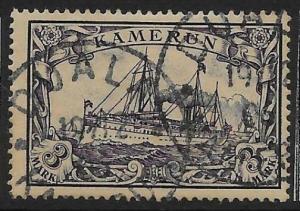 CAMEROUN SGK18 1900 3m VIOLET-BLACK USED