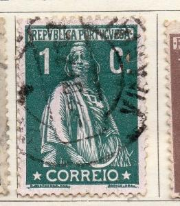 Portugal 1912 Early Issue Fine Used 1c. 127199