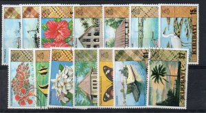 Kiribati Sc 327-40 1979 long views stamp  set to $2 value used