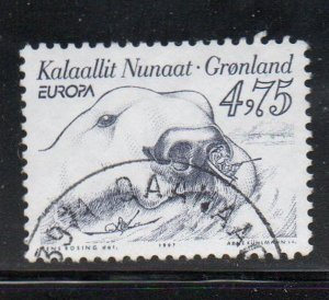 Greenland Sc 323 1997 Europa stamp used