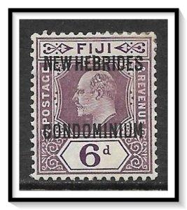 New Hebrides - British #15 King Edward VII MHR
