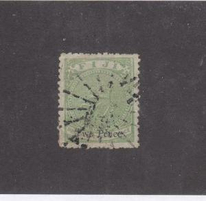 FIJI # 4 2p STARBURST CANCEL CAT VALUE $35