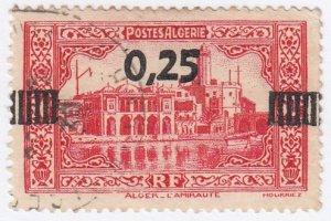 Algeria, Sc 122 (1), Used, 1938, Mosque