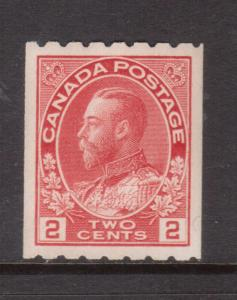 Canada #124 Extra Fine Never Hinged **With Certificate**
