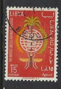 Libya 218 Used 1962 issue (ap6623)