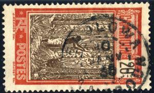 CAMEROUN - 1935 (10/01) - CàD EBOLOWA sur Yv.135/Mi.98 20c rouge & brun