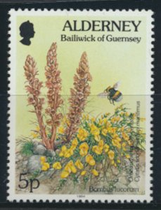 GB Alderney  SG A64 MNH  5p Bumble Bee  1994 SC# 74 See scan