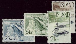 Iceland SC#319-322 Mint VF..Fill a Key Spot!!