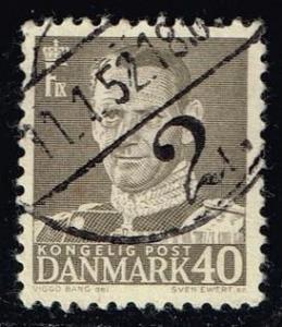 Denmark #323 King Frederik IX; used (0.25)