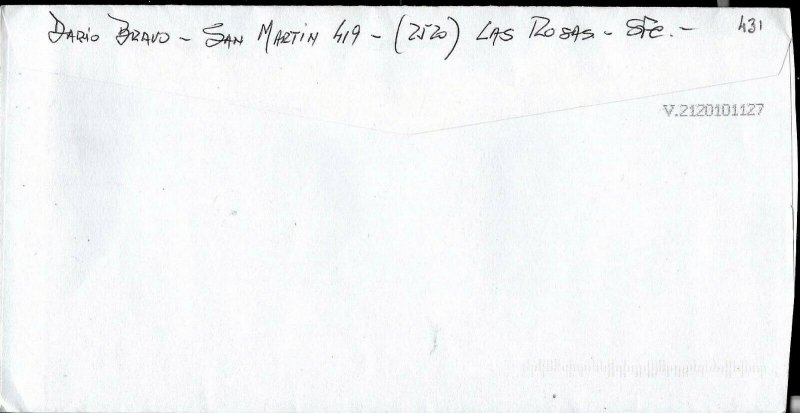 AARG-431 ARGENTINA 2017  STD LOCAL MECANICAL CANCELATION RATE Ps16 ALONE
