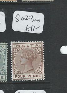 MALTA  (P1607B)  QV 4D  SG27    MOG
