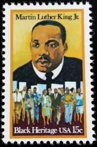 1979 15c Martin Luther King Jr., Minister Scott 1771 Mint F/VF NH