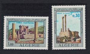 Algeria Roman Ruins in Algeria 2v SG#534-535