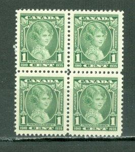 CANADA 1935 PRINCESS #211 MARGIN BLK MNH...$4.50