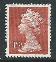 Great Britain - QE II Machin SG Y1800