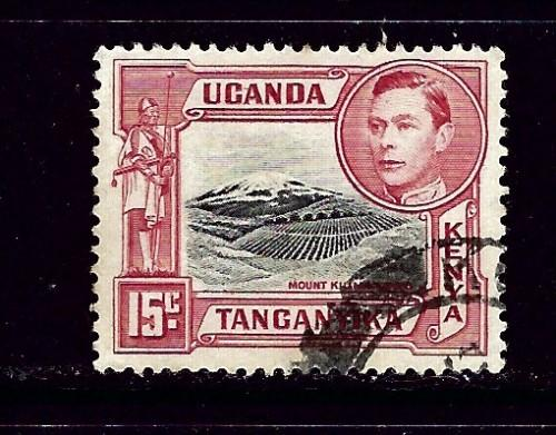 Kenya UT 73 Used 1952 issue