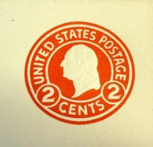 U429, 2c U.S. Postage Envelopes Die 7