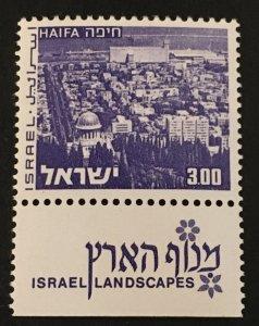Israel Scott 474 Israel Landscapes-Haifa-Mint NH