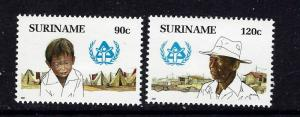 Surinam 769-70 MH 1987 set