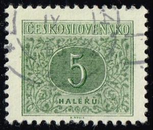 Czechoslovakia #J82a Postage Due; CTO (0.25)