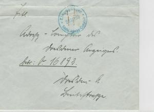 German Postal History Stamps Cover Ref: R4701
