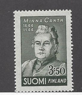 Finland, 244, Minna Canth - Author Single,  **LH**