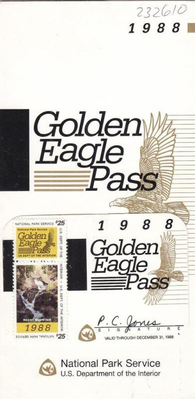 1988, Golden Eagle Pass, RVP1a (S13947) / HipStamp