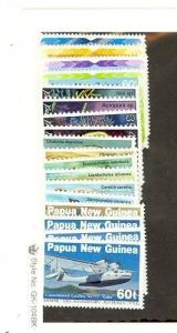 Papua New Guinea Scott 584-601 NH    [ID#422656]