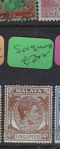 SINGAPORE  (PP2901B)  KGVI  4 C  SG 19   MNH