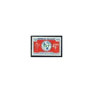 Malagasy 367,MNH.Michel 534. ITU-100,1965.Telecommunication equipment.