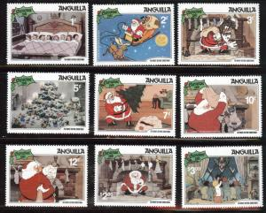 ANGUILLA Scott 453-461 MNH** Disney set CV$12