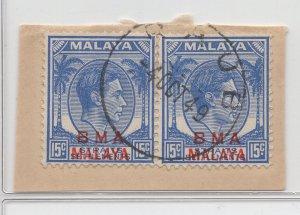 Malaya BMA - 1945 - SG 12b - Fine Used (Raub #1 Cancellation)