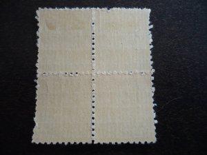Stamps - Cuba - Scott# RA9 - Mint Hinged Single Postal Tax Stamps in Blocks of 4