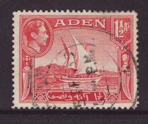 1939 Aden 1½ Annas Fine Used