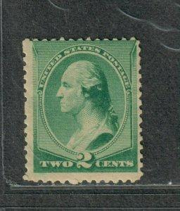 US Sc#213 M/NH/A, Cv. $120
