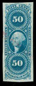 momen: US Stamps #R62a Revenue Handstamp Used VF+