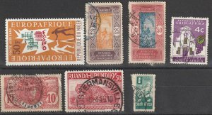 Africa Used lot mixed