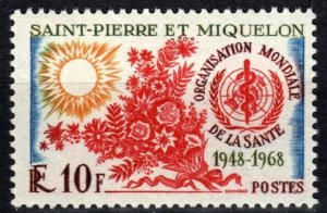 St Pierre & MIquelon #377 F-VF Unused CV $12.00 (X3568)