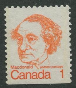 STAMP STATION PERTH Canada #586 Booklet Single Stamp 1972 MNH CV$0.40