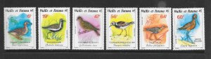 BIRDS - WALLIS and FUTUNA #363-8   MNH