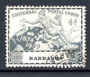 Barbados 214 U 1949 UPU