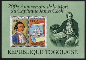 Togo C374a MNH Captain Cook, Ship