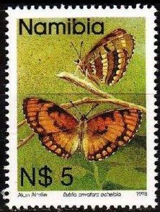 NAMIBIA [1993] MiNr 0763 ( **/mnh ) Schmetterlinge