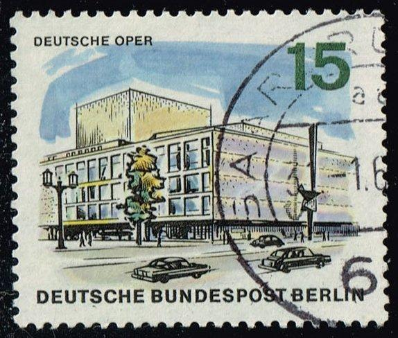 Germany #9N224 Opera House; Used (0.25)