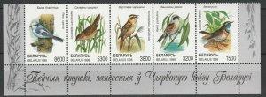 Belarus 1998 Birds 5 MNH stamps