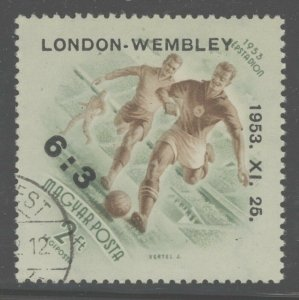 Hungary 1953 Soccer Match at Wembley England Sc# C128 used