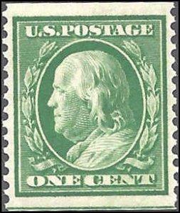 383 Mint,OG,NH... PSE Cert... SCV $5.00... XF