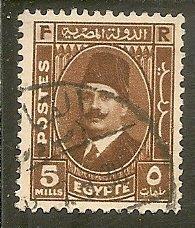 Egypt   Scott 194   King    Used